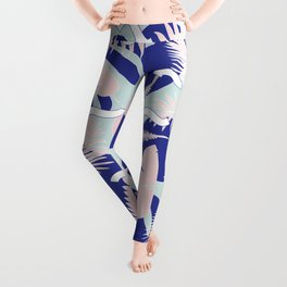 Miami Leaves Leggings