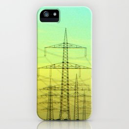 electric highway. iPhone Case