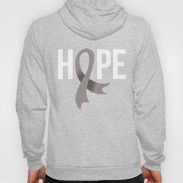 Hope Brain Cancer Hoody