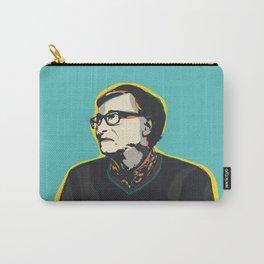 Bill Gates Pop Art Quote Portrait Carry-All Pouch