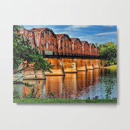 Brawny Crossing Metal Print