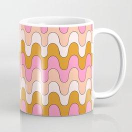 Squiggles - Pink/Orange Coffee Mug