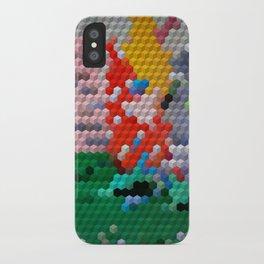 Geometric Wood iPhone Case