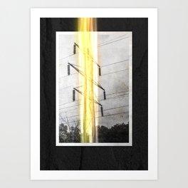 Tower Series: 2018_03 Art Print