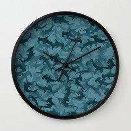 Hammerheads sharks Wall Clock