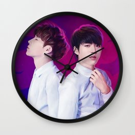 INFINITE - WooGyu Wall Clock