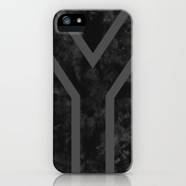 Black South Africa Flag iPhone Case