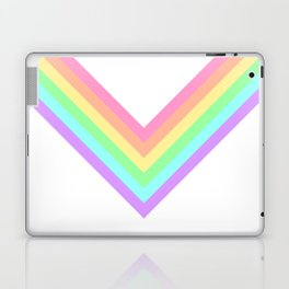 Pastel Rainbow Chevron Laptop & iPad Skin
