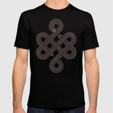 Endless Creativity LARGE Black Mens Fitted Tee