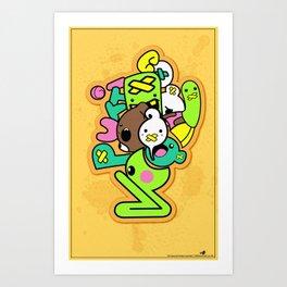 Snake Bite Art Print