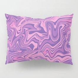 Purple & Rose Agate Pillow Sham