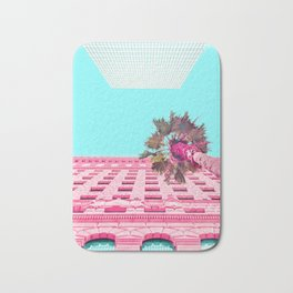 LA Palm Tree Look Up Bath Mat