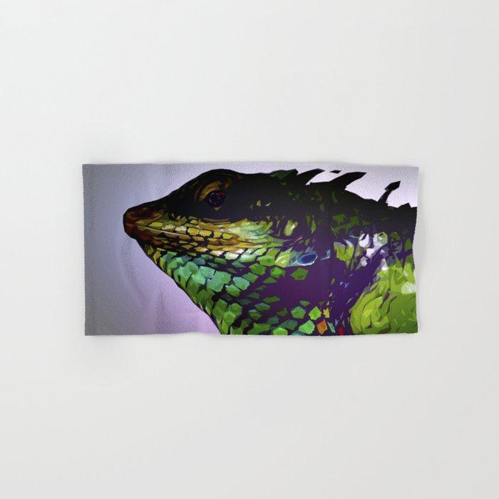 Lizard Hand & Bath Towel