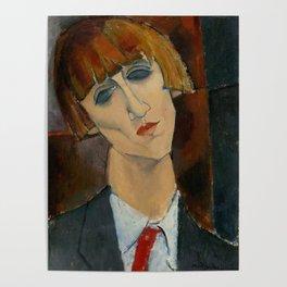 "Amedeo Modigliani ""Madame Kisling""(1917) Poster"
