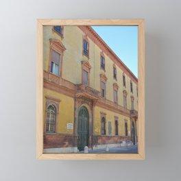 Italian Architecture Framed Mini Art Print