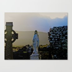 Corcomeroe Abbey, County Clare Ireland Canvas Print