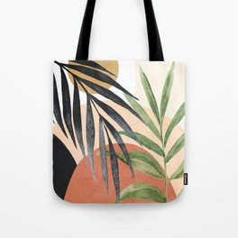 Abstract Tropical Art VI Tote Bag