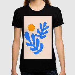 Henri Matisse - Leaves - Blue T-shirt