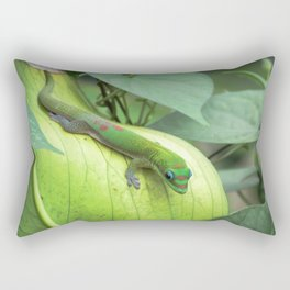 Blending In Rectangular Pillow