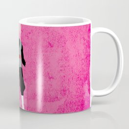 SSJ Rose Black Coffee Mug