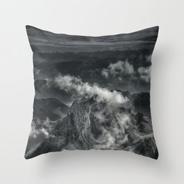 Beyond 100 days Throw Pillow