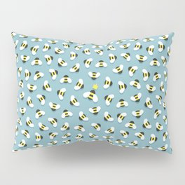 Queen bee and honeybees Pillow Sham