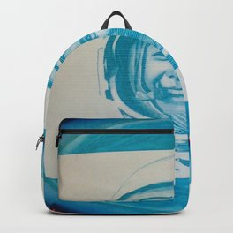 Russian Cosmonaut Poster Backpack