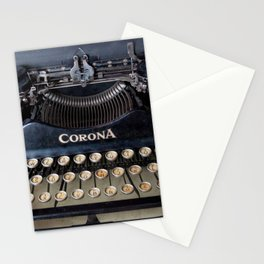 Corona Typewriter Stationery Cards