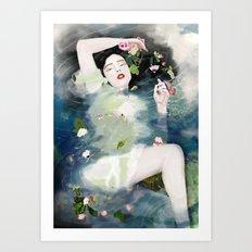 The Ondine Art Print