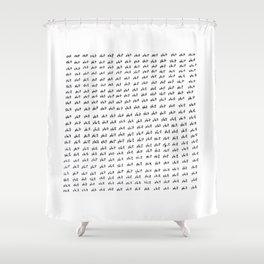 shit Shower Curtain
