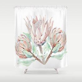 Protea #society6 #buyart Shower Curtain