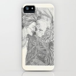 The Fault In Our Stars Pointillism iPhone Case
