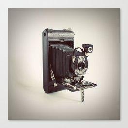 Antique Film Kodak Camera Color Photo Canvas Print