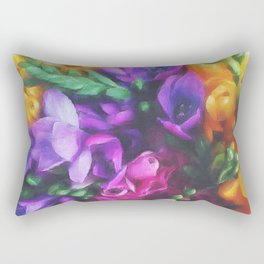 Freesias Rectangular Pillow