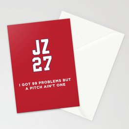 J Zimm - 99 Problems Stationery Cards
