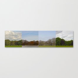 Goal in a year Canvas Print