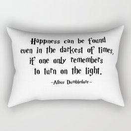 Albus Dumbledore - Turn on the Light quote - HarryPotter Rectangular Pillow