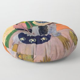 "Paul Gauguin ""The Siesta"" Floor Pillow"