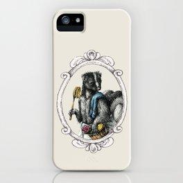 Portrait of Mr. Skunk iPhone Case