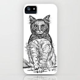 BAT CAT iPhone Case