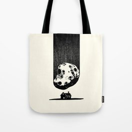 Trouble At Home Tote Bag