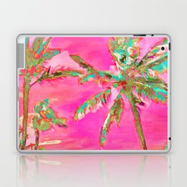 Retro Hawaiian Beach, Mauna Lani Pink Laptop & iPad Skin
