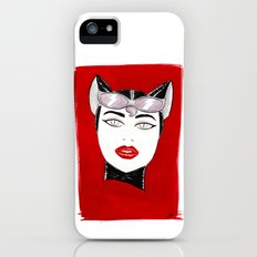 80's Fashion Catwoman Slim Case iPhone (5, 5s)