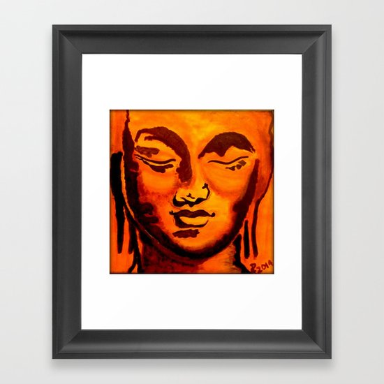 """Golden Slumber"" Framed Art Print"