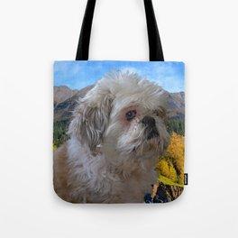 """""""Denali"""" - Lap Dog Tote Bag"""