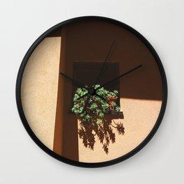 - Window succulents Wall Clock