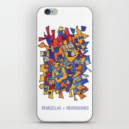 Remezclas + reversiones iPhone Skin