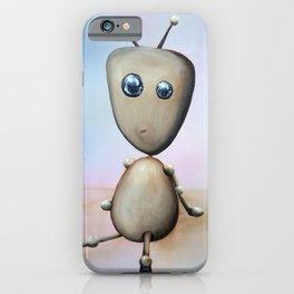 Awkwardbot iPhone Case