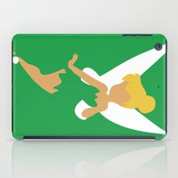 tinker bell iPad Cases featuring Tinker Bell by Adrian Mentus