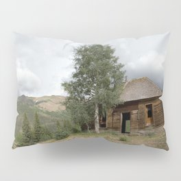 Remnants of Ironton, of the 1880's Gold Rush Pillow Sham